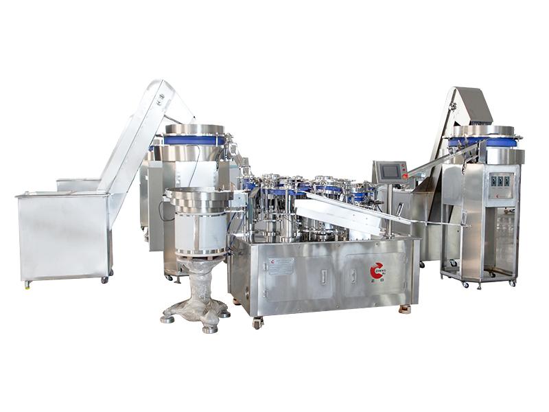 QZ-005-S three-part syringe assembly machine