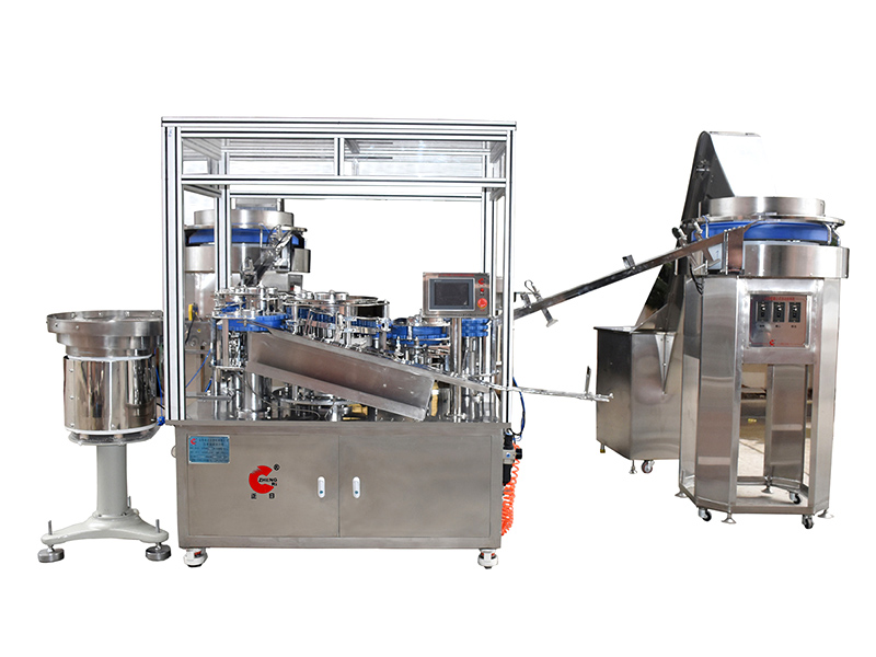 QZ-005 series automatic syringe assembling machine (with dust cover)